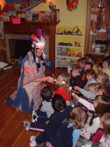 A Visit from Chief Wishoskinoma